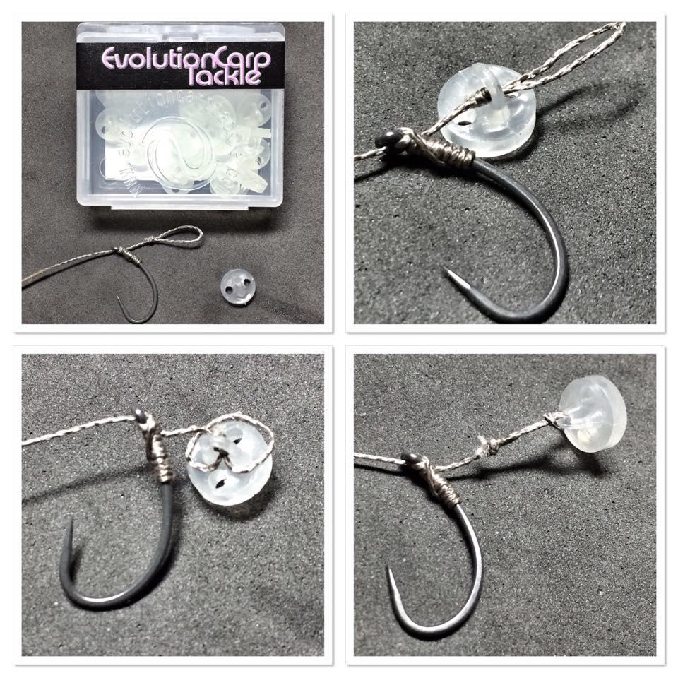Terminal Tackle - Bait Clip Example - Evolution Carp Tackle