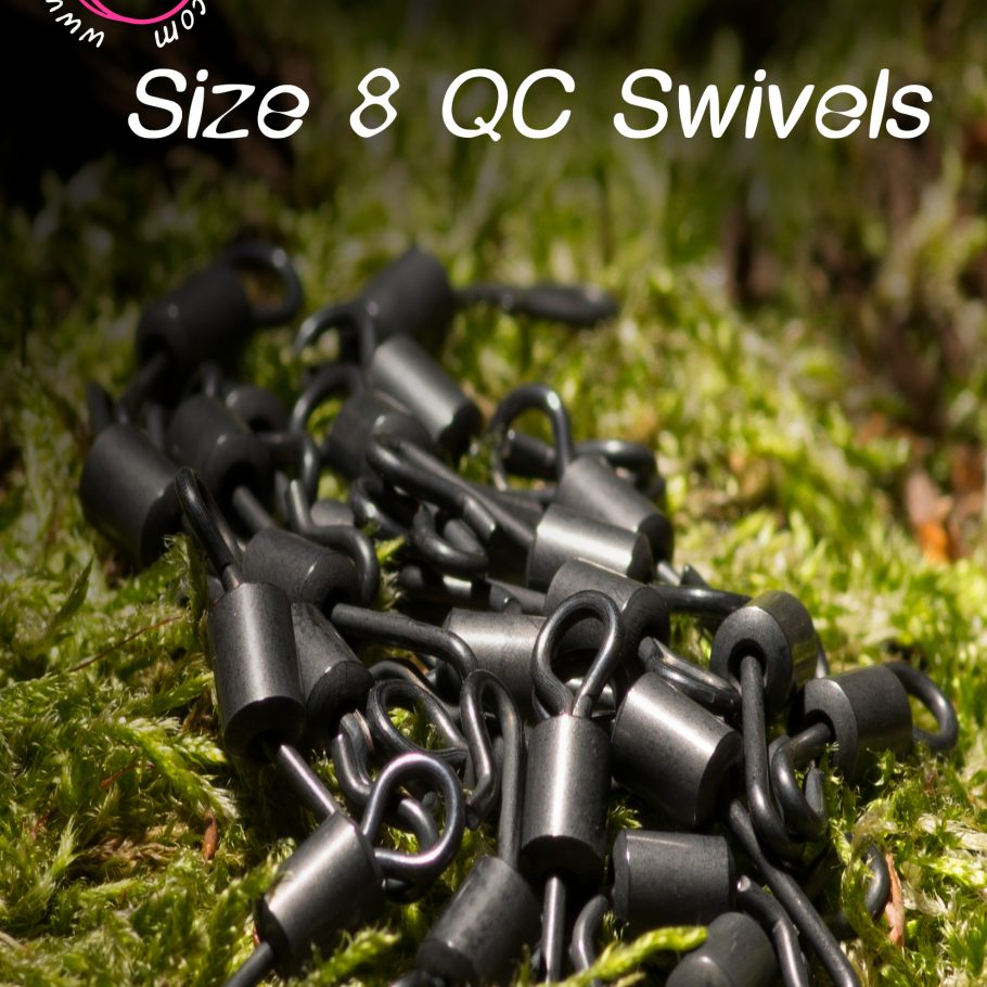 Evo Size 8 QC Swivels